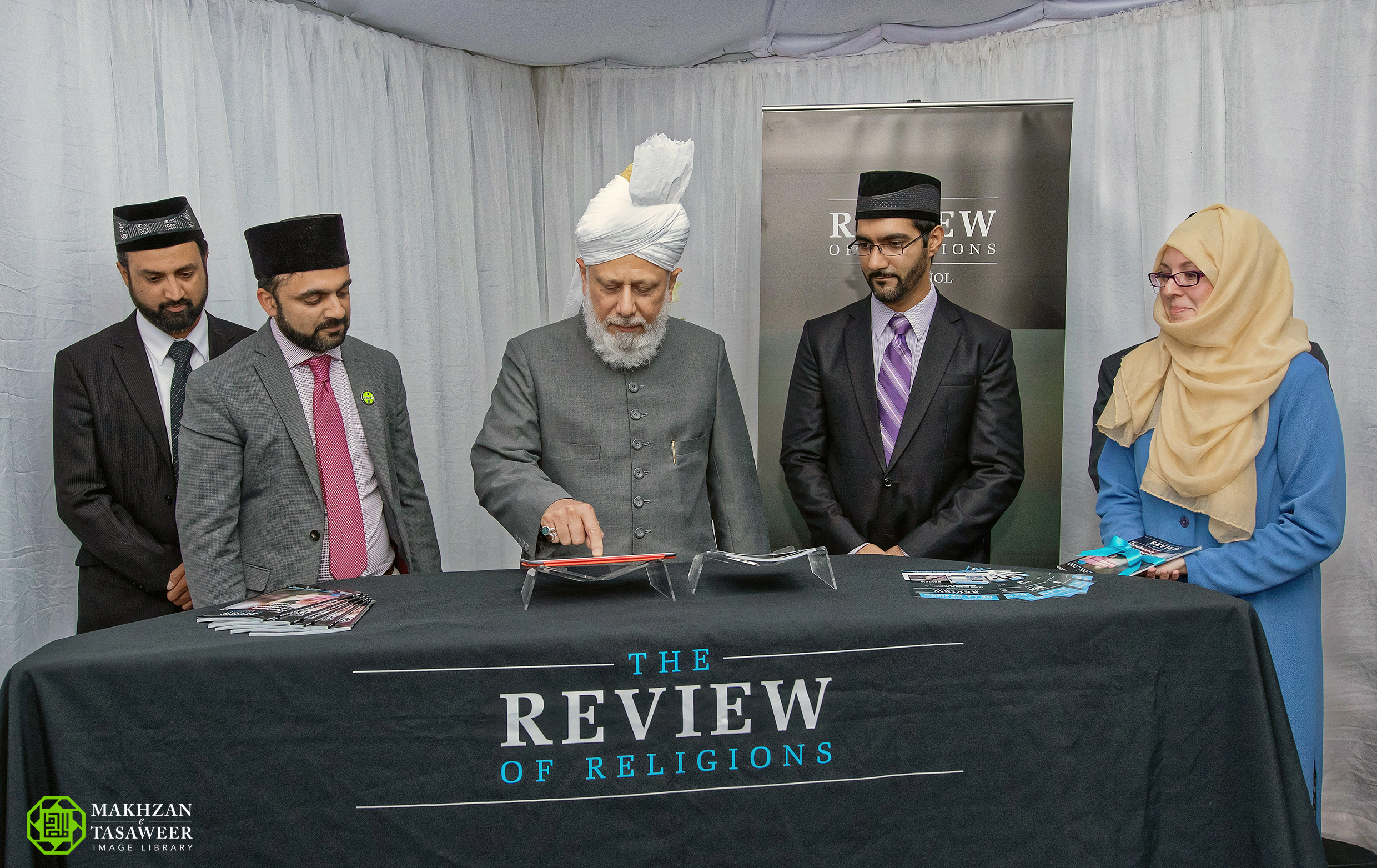 Guatemala Hazoor Review of Religions
