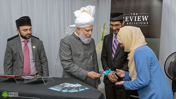 Hazoor Launch Review of Religions